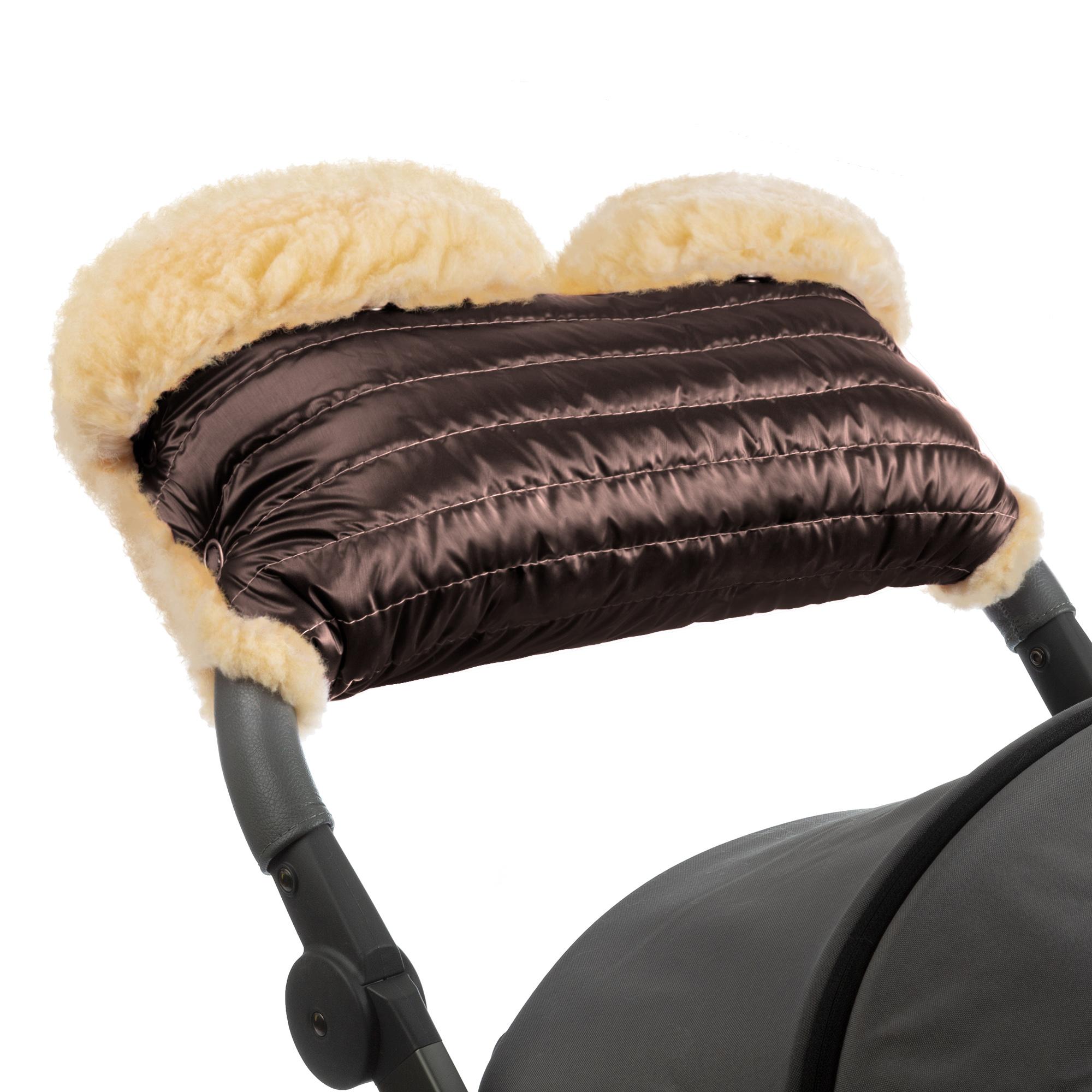 Купить Муфта для рук на коляску Esspero Diaz Lux Mocca,