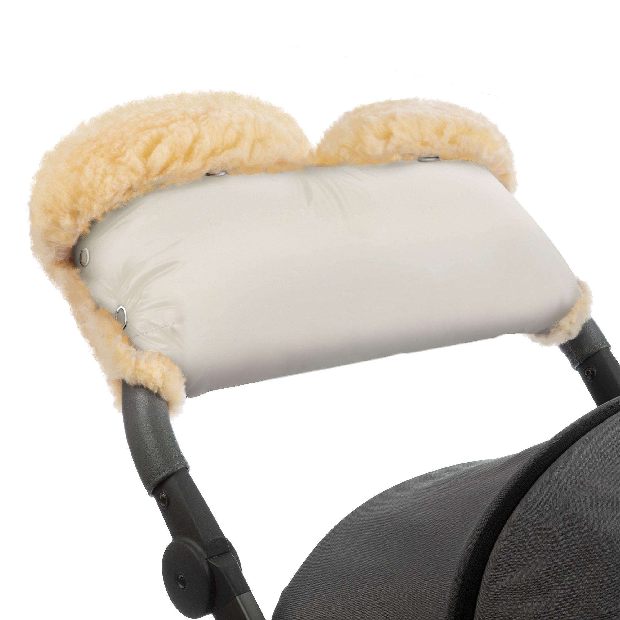 Купить Муфта для рук на коляску Esspero Diaz Lux Beige, Муфты на коляску