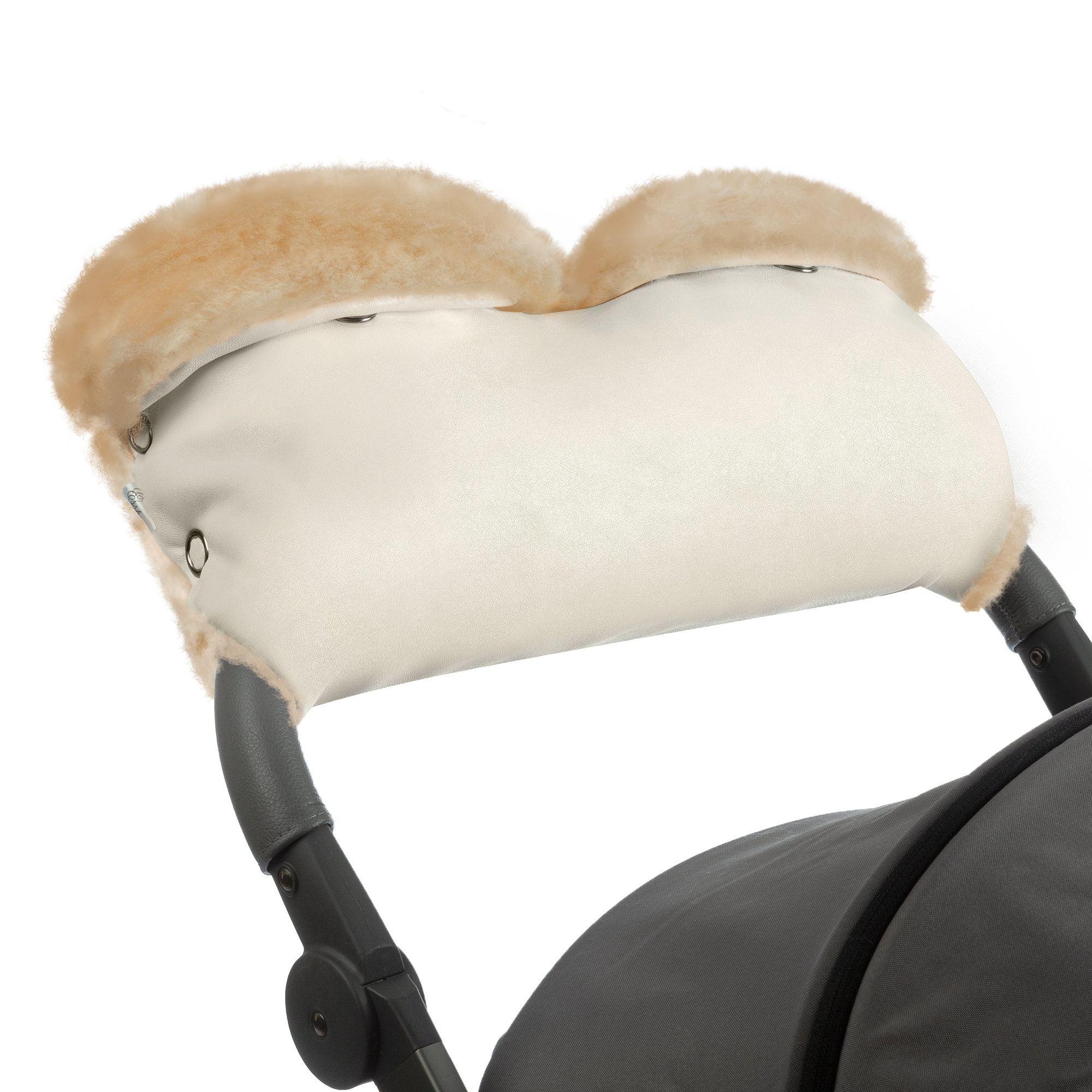 Купить Муфта для рук на коляску Esspero Linda Beige, Муфты на коляску
