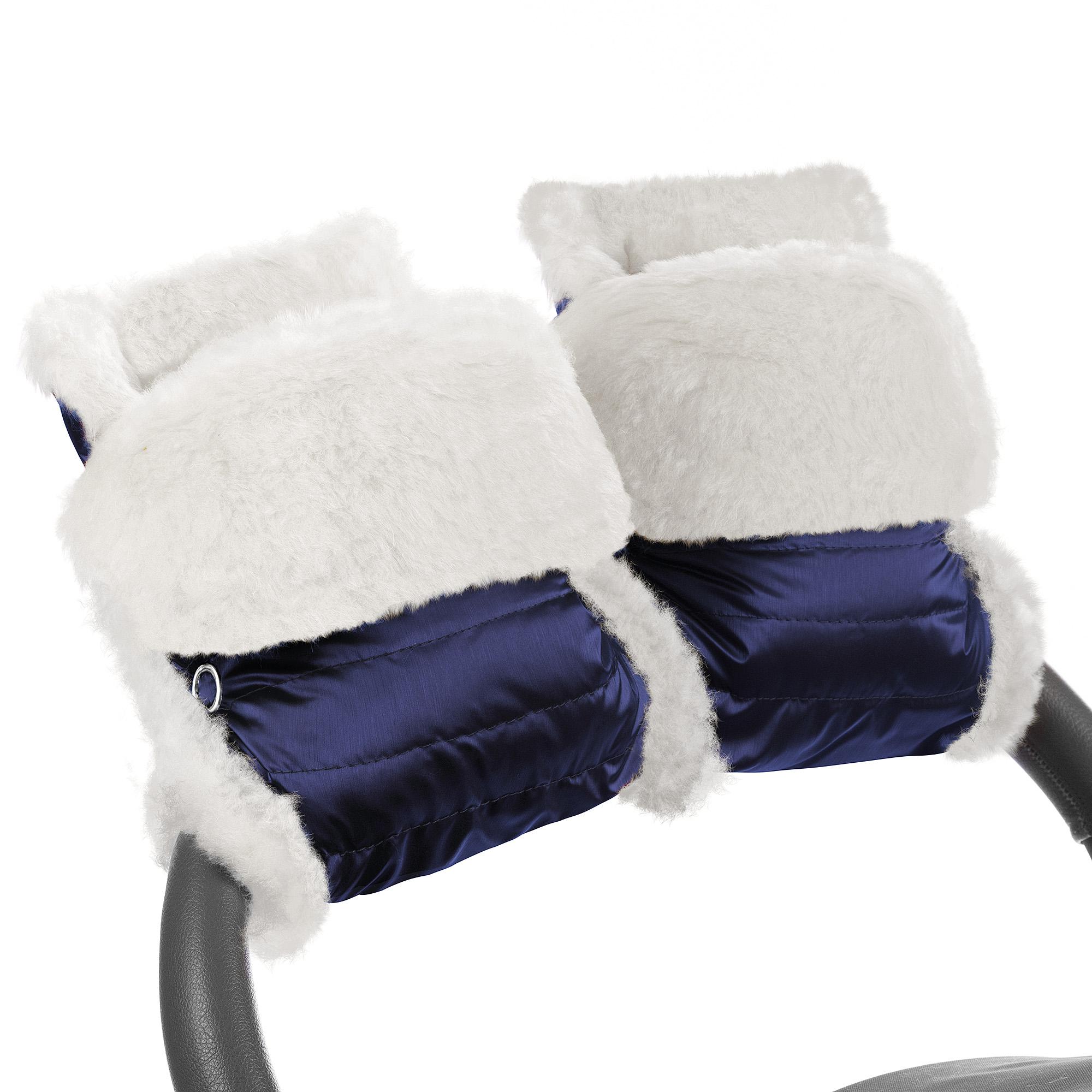 Муфта-рукавички для коляски Esspero Christer Cosmic Натуральная шерсть фото