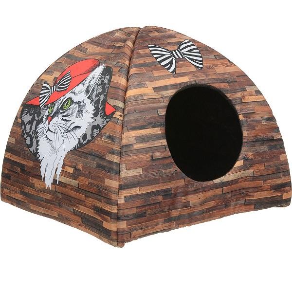 Домик для кошек PerseiLine Дизайн Вигвам Кошка