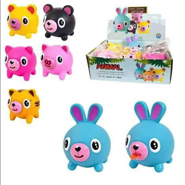 Купить Игрушка-антистресс Junfa toys Мялка большая Покажи язык, 10 см, в ассортименте,