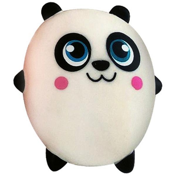 Купить Мякиш-антистресс Bondibon Мялка-кидалка Панда, Мягкие игрушки антистресс