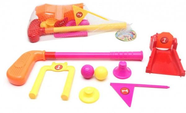 Набор для гольфа Наша игрушка 8 предметов