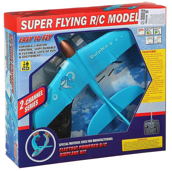 Купить Самолёт р/у super flying model с электородвигателем М32296, Радиоуправляемый самолет Gratwest Super Flying Model с электородвигателем WX9101 М32296, Радиоуправляемые самолеты