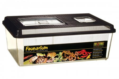 Многоцелевой террариум (Фаунариум), плоский большой, 46х31х17,5см