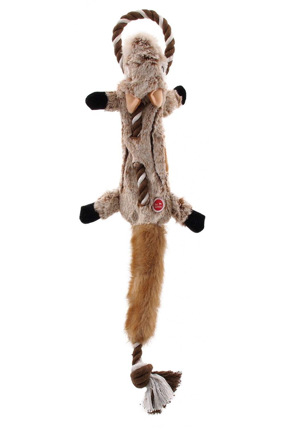 Игрушка для собак бурундук с петлей