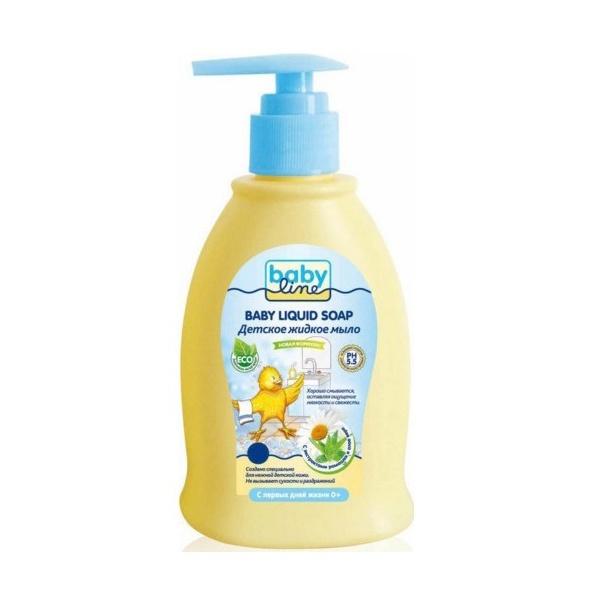 Детское жидкое мыло Babyline с дозатором 500 мл