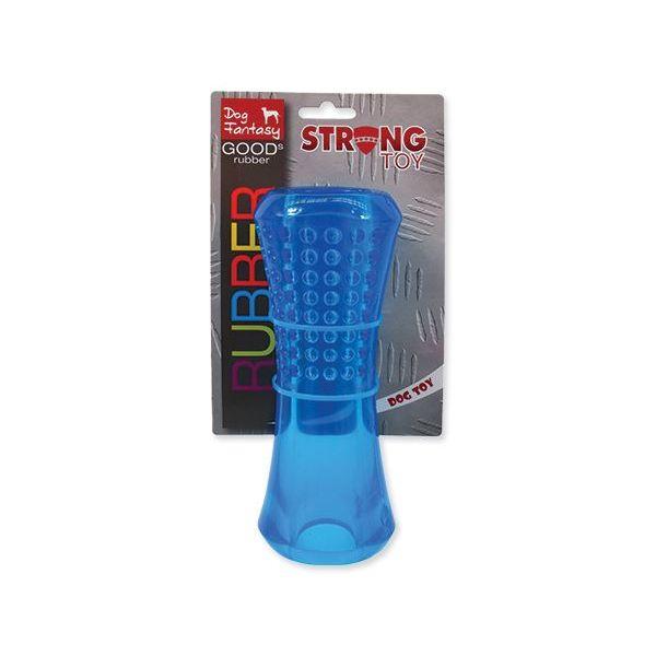 Игрушка для собак трубка ребристая синяя
