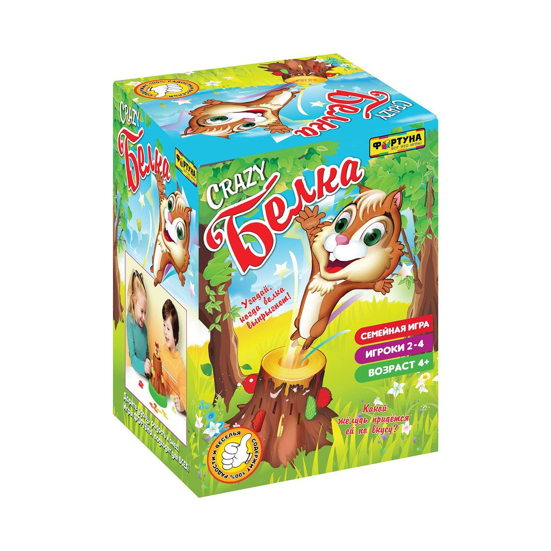 Купить Настольная семейная игра Фортуна Crazy белка, Семейные настольные игры