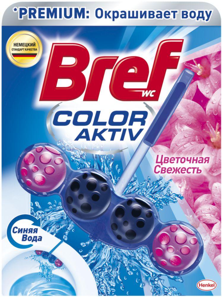 Средство чистящее для унитаза Bref Color Activ