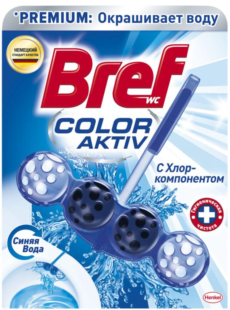 Средство чистящее для унитаза Bref Blue Aktiv