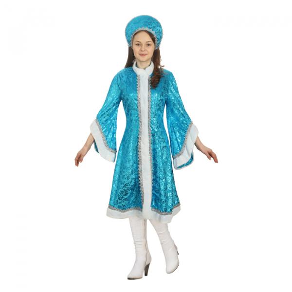 Карнавальный костюм Снегурочки Happy Pirate Царевна лебедь
