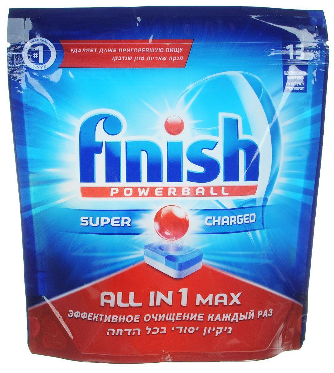 Таблетки для посудомоечных машин Finish All