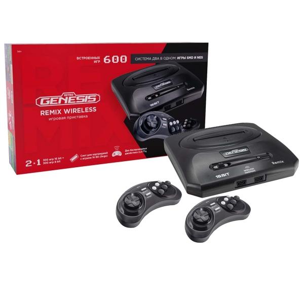 Игровая приставка Retro Genesis Remix Wireless (8+16Bit)