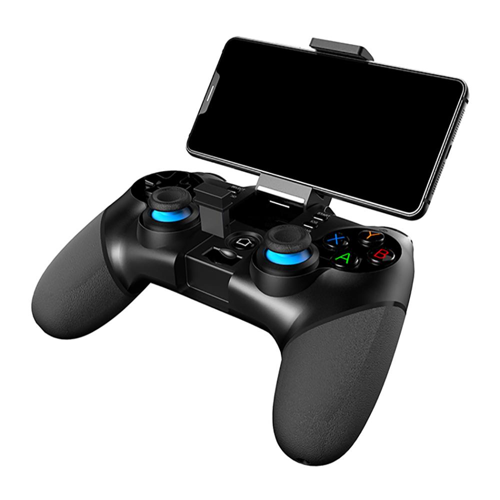 Беспроводной геймпад для смартфона с держателем, черный,