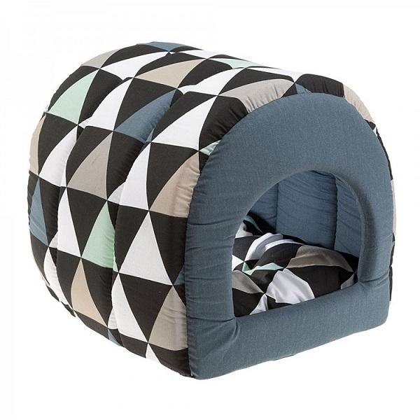 Домик для кошек Ferplast Tunnel, разноцветный, 30x38x34см