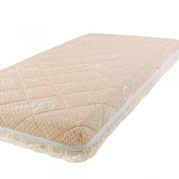 Купить Детский матрас Baby Sleep класс Люкс, Bio Latex Linen, 120х60 см, BabySleep, Детские ортопедические матрасы