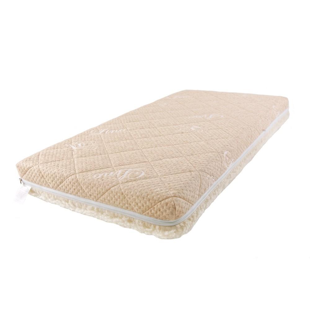 Купить Детский матрас Baby Sleep класс Люкс, Bio Latex Linen, 140х70 см, BabySleep, Детские ортопедические матрасы