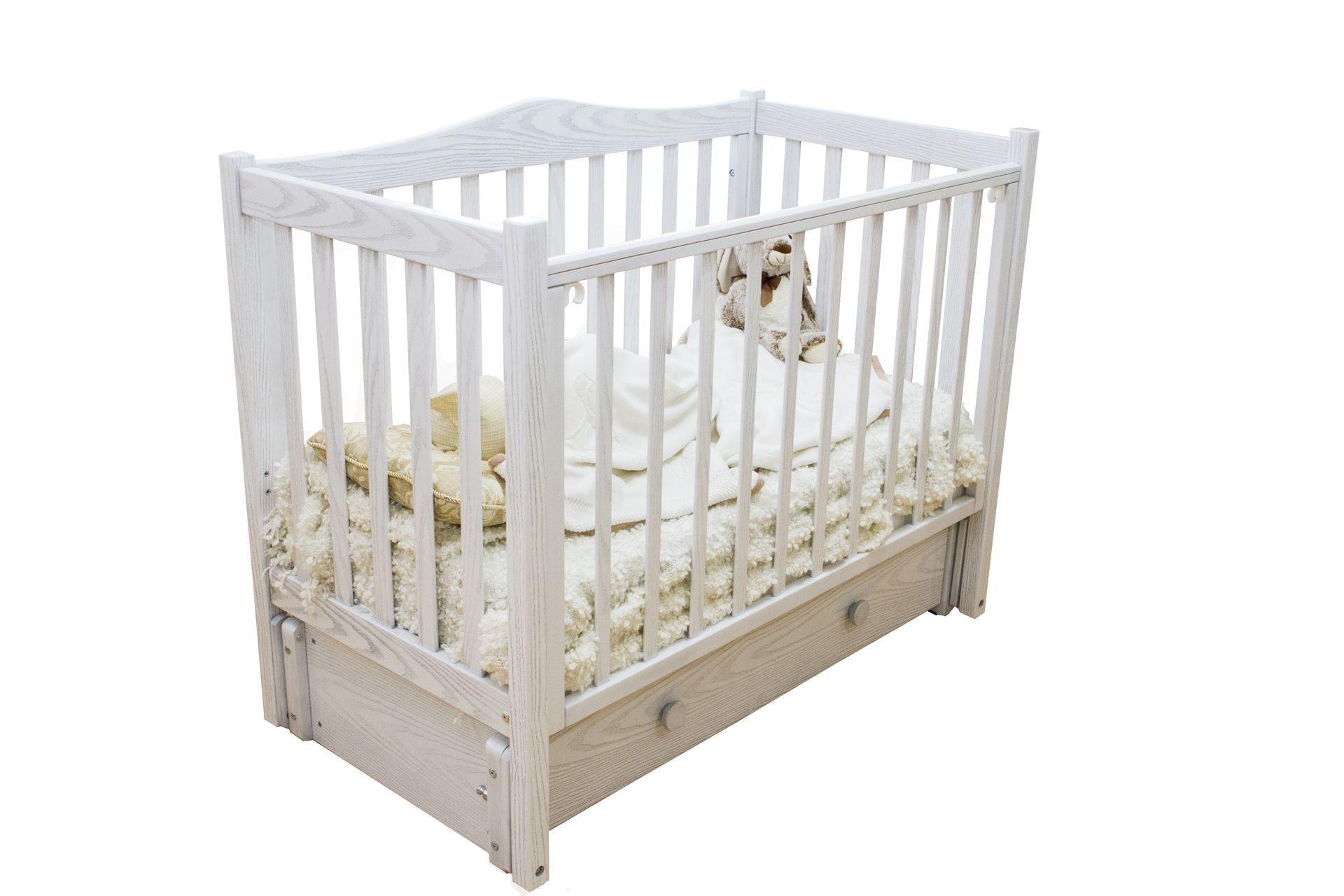 Кровать детская Красная звезда Лука белый