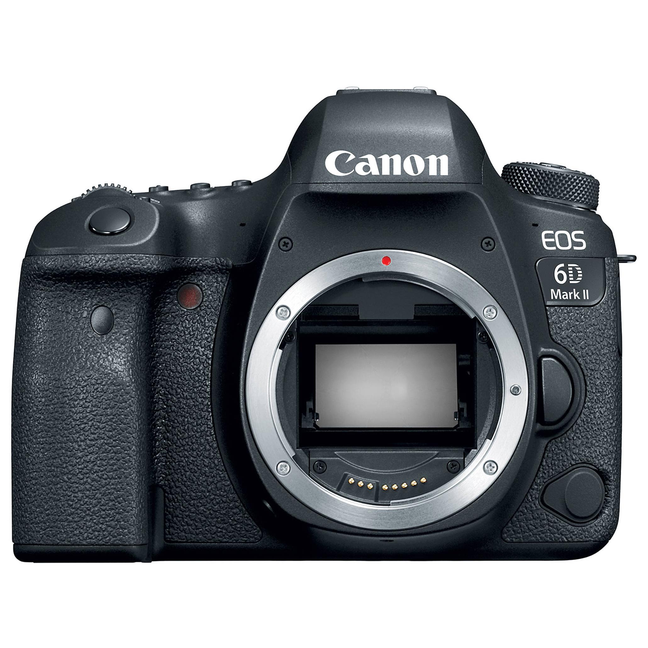 Зеркальный фотоаппарат Canon EOS 6D Mark II Black фото