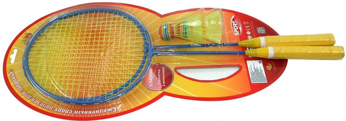 Бадминтон Junfa Toys 2 ракетки, 2 воланчика