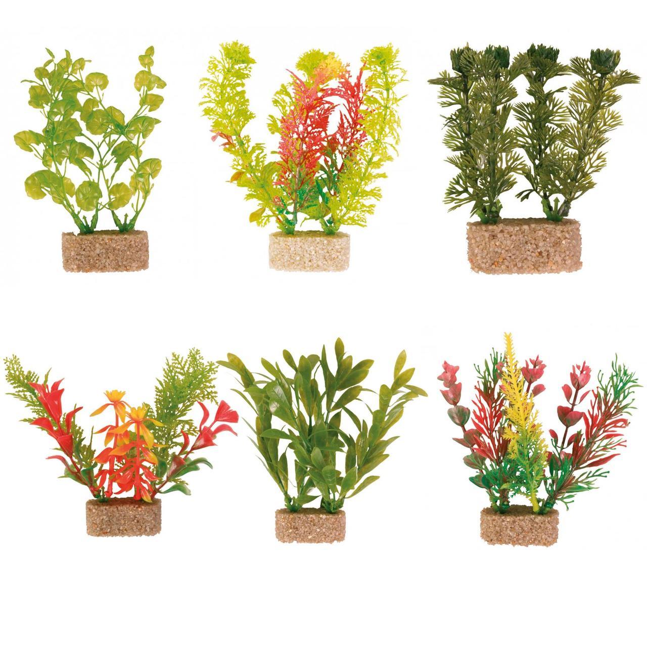 Искусственное растение TRIXIE Plastic Plants, набор,