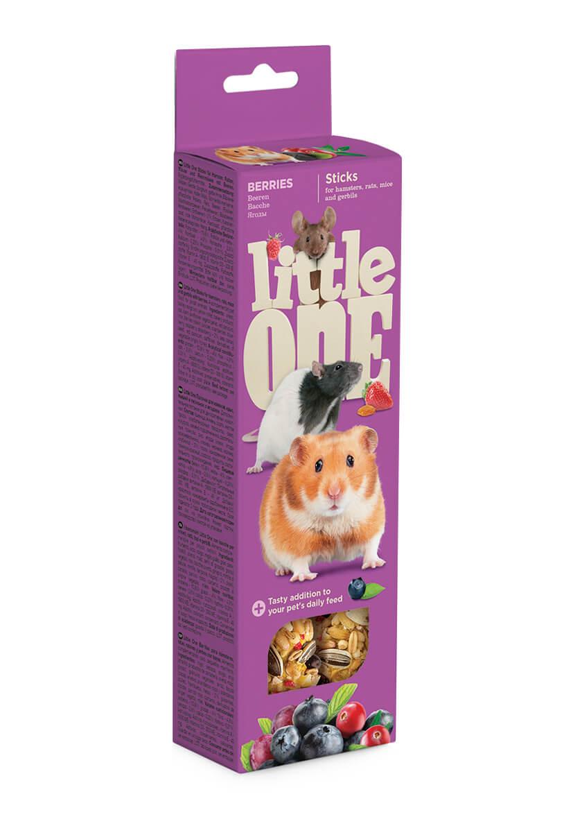 Лакомство Little One Палочки для хомяков, крыс,