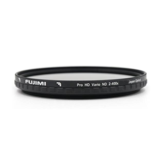 Нейтральный ND-фильтр Fujimi Vari-ND / ND2-ND400 с изменяемой плотностью (82 мм)