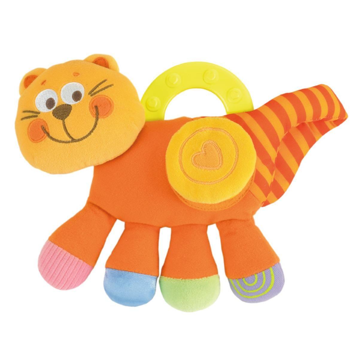 Подвеска Chicco Котёнок оранжевый