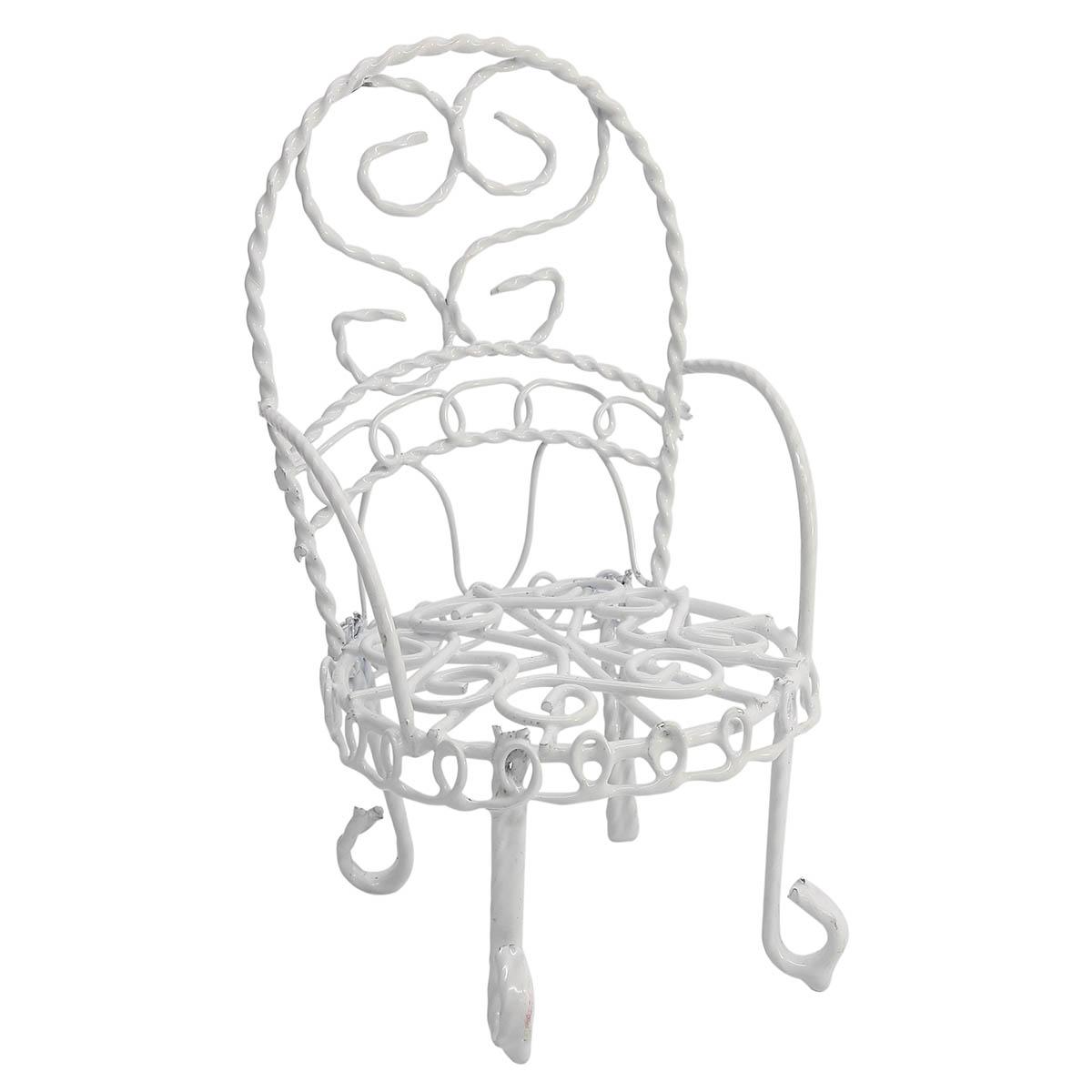 Мебель для куклы АЙРИС металлическое мини-кресло 2, 5 x 10 x 5 см