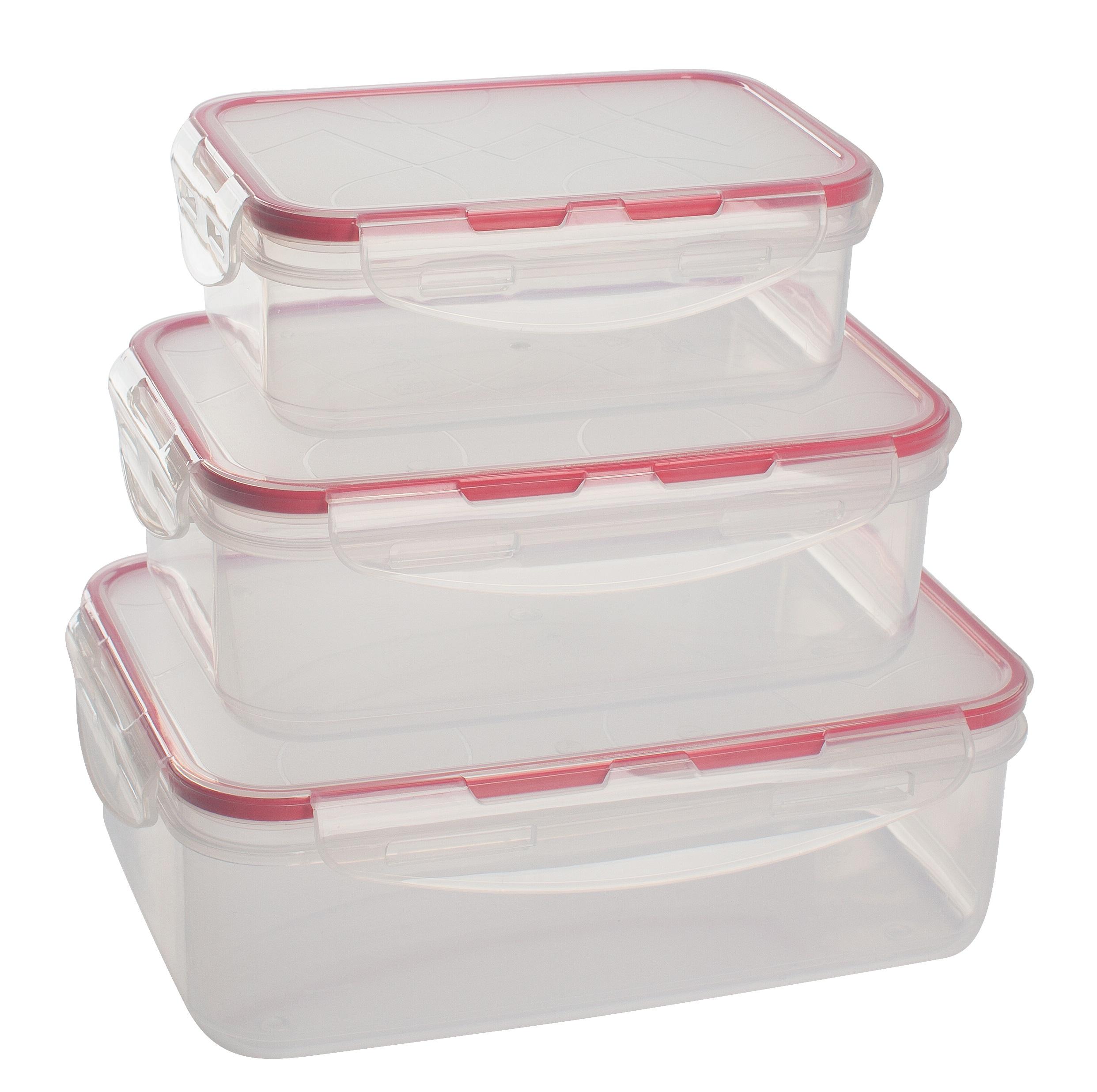 Набор контейнеров Giaretti Clipso 0,5 л/1 л/1,5