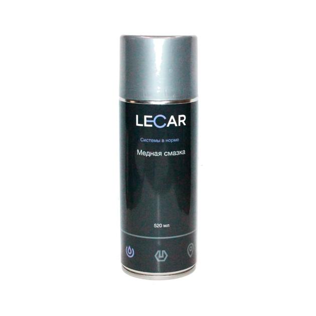Смазка медная Lecar LECAR000011510 0,52 л аэрозоль
