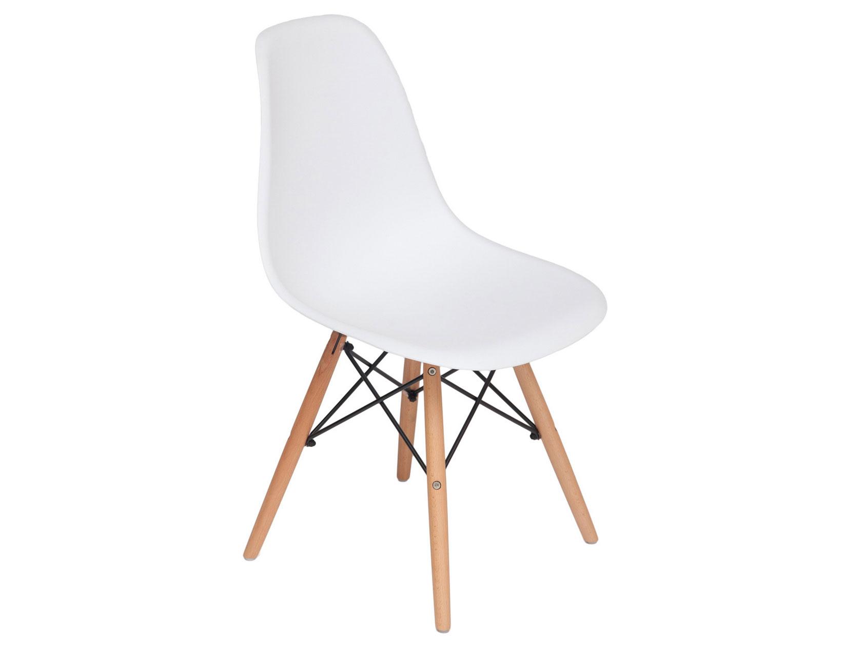 Стул Eames Wood CC Белый