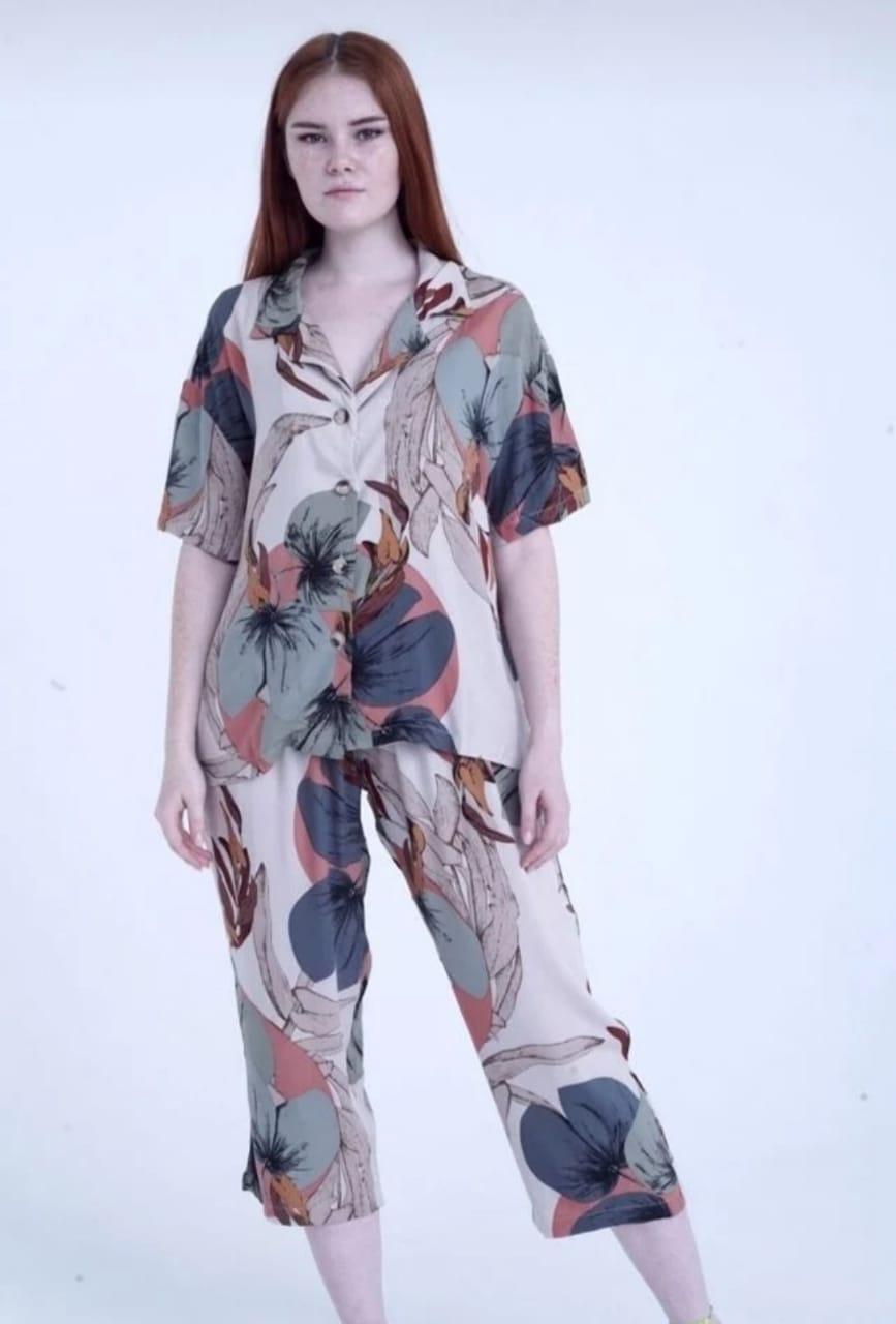 Домашний костюм женский Женский домашний костюм 4603774-766309 белый M_L