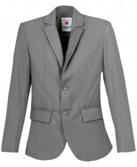 Купить 219BBBS48010100, Пиджак для мальчиков Button Blue, цв. серый, р-р 170, Пиджаки для мальчиков