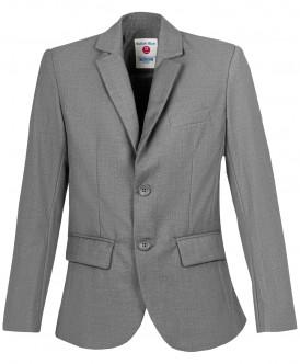 Купить 219BBBS48010100, Пиджак для мальчиков Button Blue, цв. серый, р-р 134, Пиджаки для мальчиков