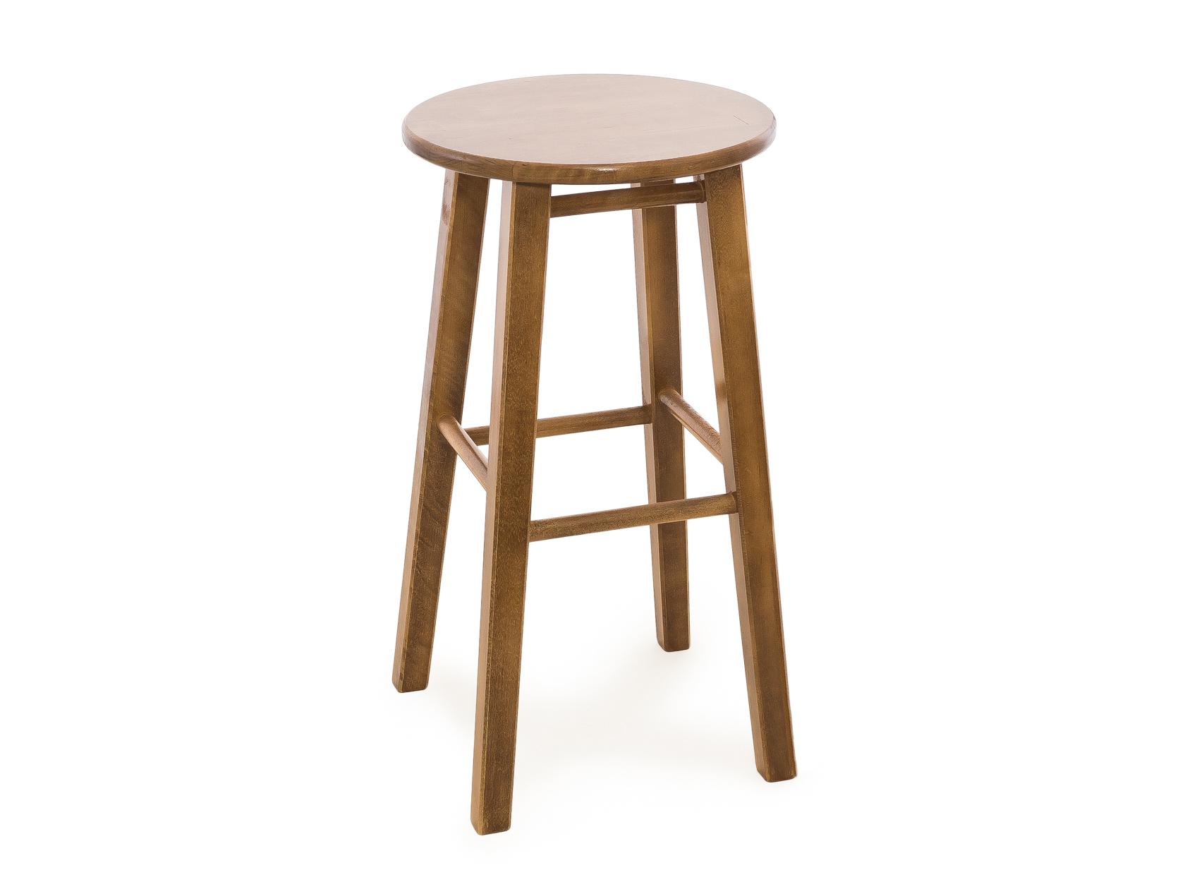 Барный стул СМКА КМ023Б, светлый орех
