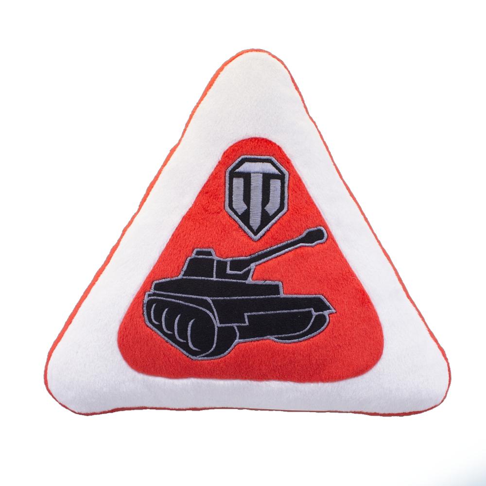 Автомобильная подушка World of Tanks в виде