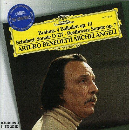 Michelangeli Arturo Benedetti Brahms: 4 Ballades/ Schubert: