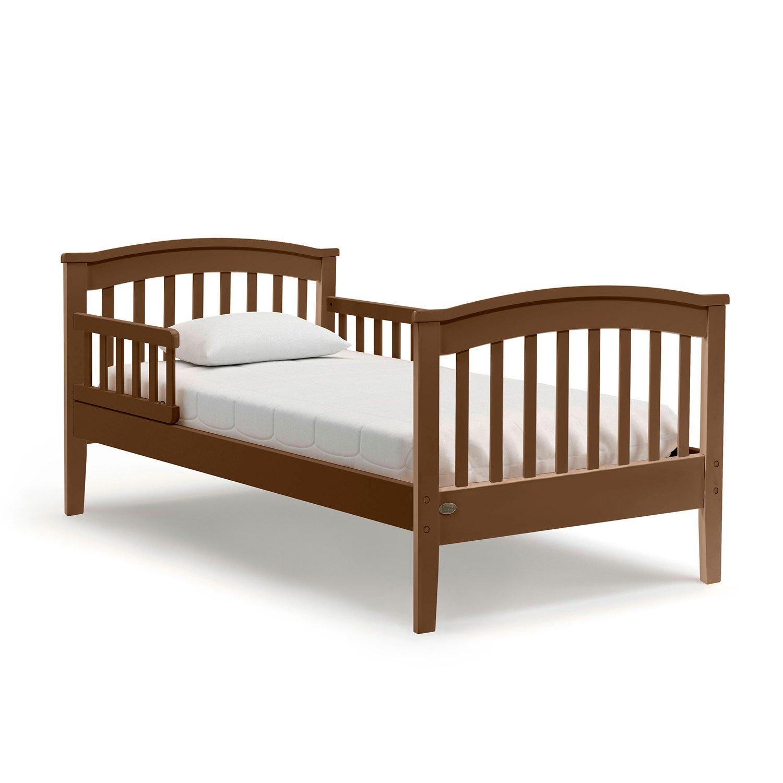Купить Подростковая кровать Nuovita Perla lungo Noce scuro/Темный орех, Детские кровати
