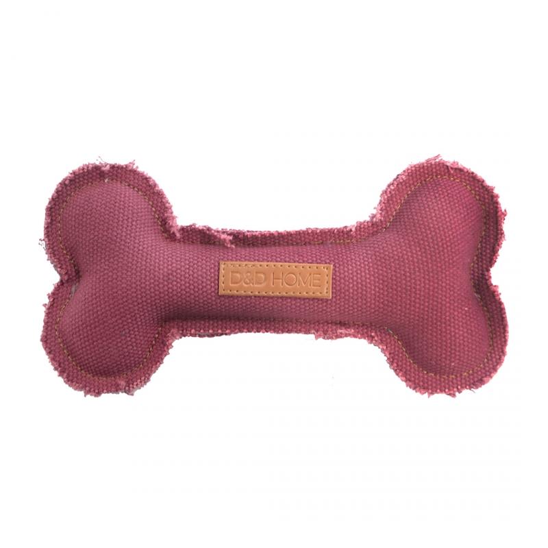 Мягкая игрушка для собак Ebi Кость розовая,