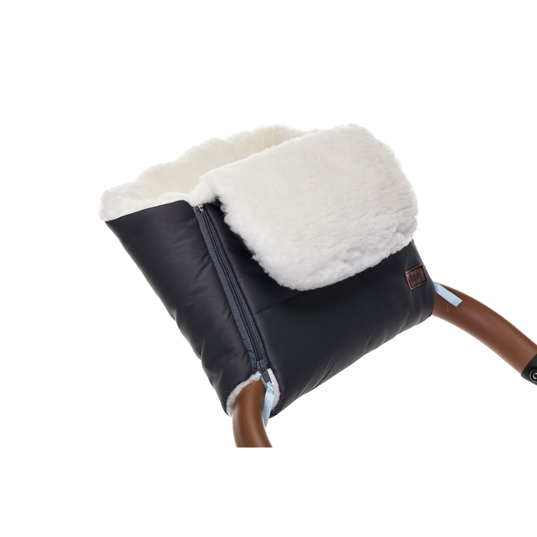 Муфта меховая для коляски Nuovita Vichingo Bianco
