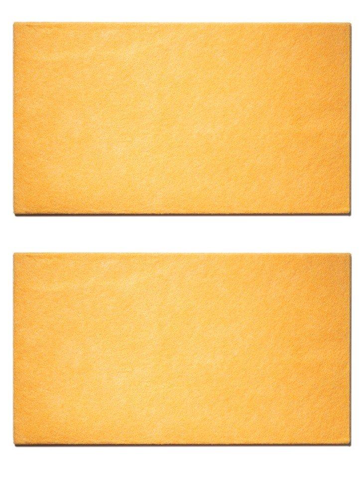 Салфетка для пола Радиус, оранжевая, 500x600,