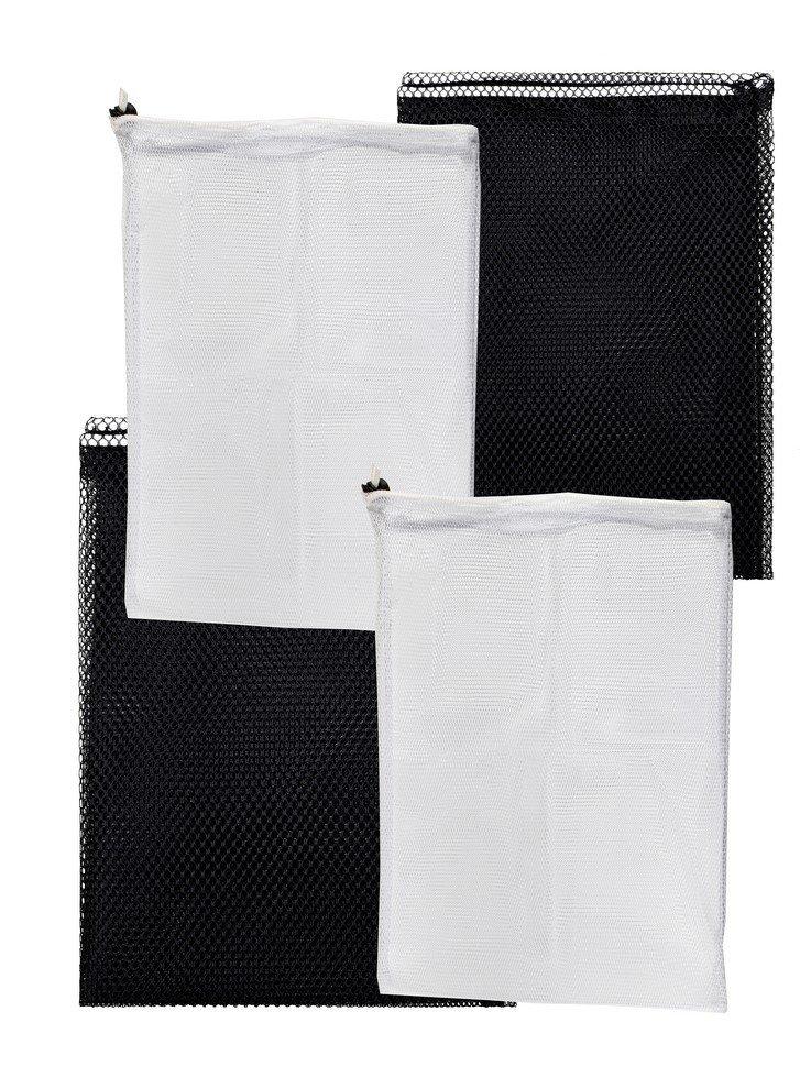 Мешки для стирки белья Радиус, белый+черный, 350х500,