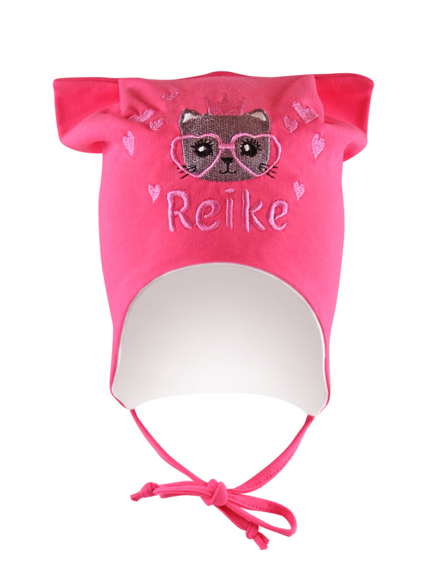 Купить Шапка для девочки Reike Kitty princess fuchsia, RKNSS20-KIT-2 fuchsia, р.48,
