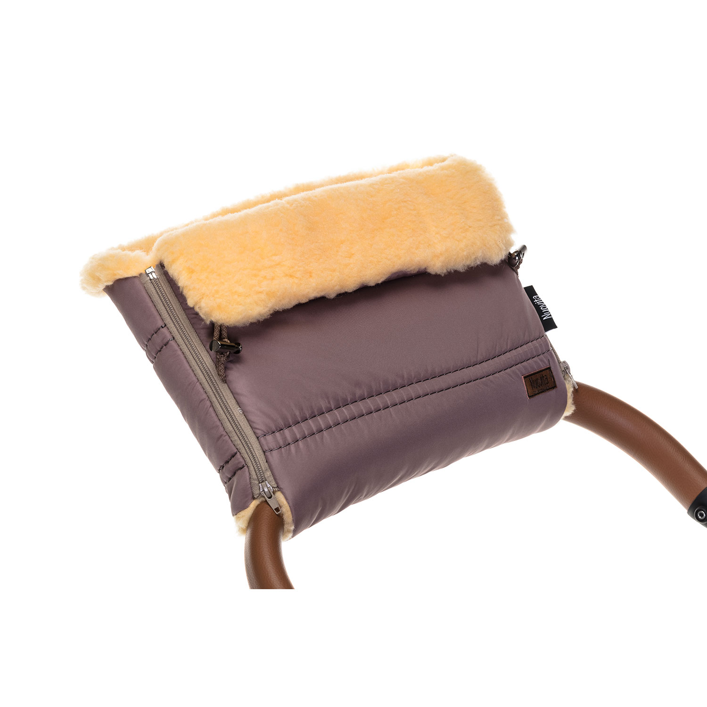 Купить Муфта меховая для коляски Nuovita Alpino Pesco капучино,