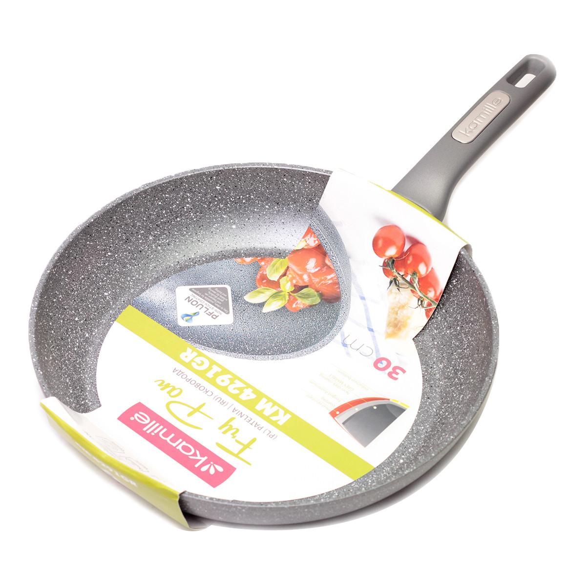 Сковорода Kamille 30см с гранитным покрытием