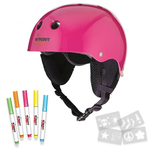 Купить Зимний шлем с фломастерами Wipeout Neon Pink 5+,