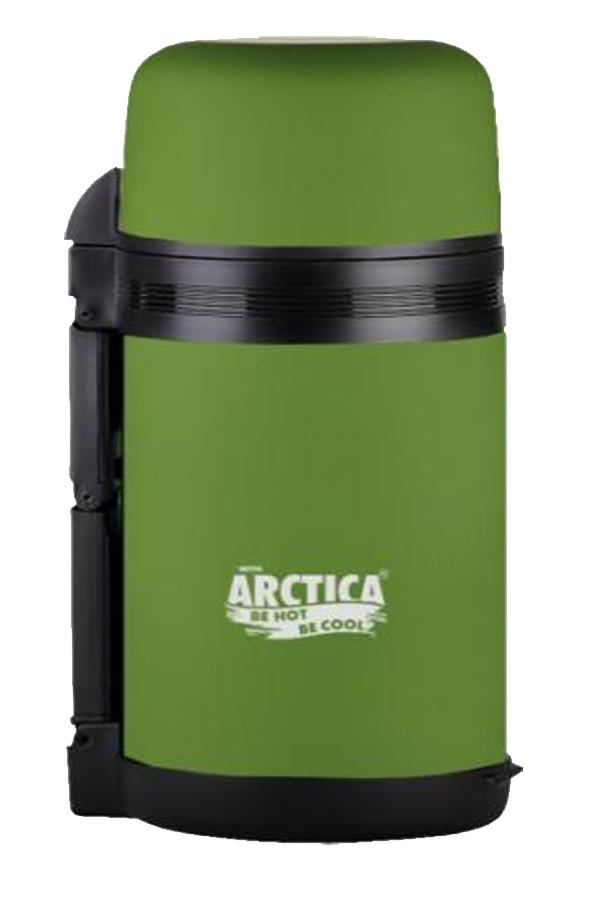 Фото - Термос вакуумный, бытовой, Арктика 1000мл, зеленый